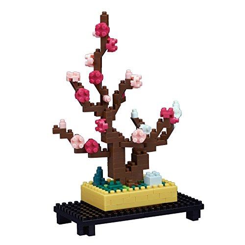Nanoblock Plum Bonsai Tree Building Kit
