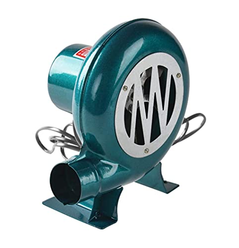 YLKCU Soplador eléctrico de forja de Herrero, Estufa de 48 v CC...