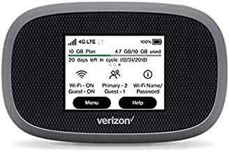 Amazon.com: Verizon Wireless Jetpack 8800L 4G LTE Advanced ...