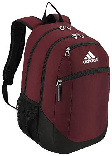 adidas Unisex Striker II Team Backpack, Team Maroon, ONE SIZE