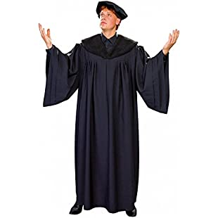 Scholarly reformer costume Luther Professor Talar cap historical costume
