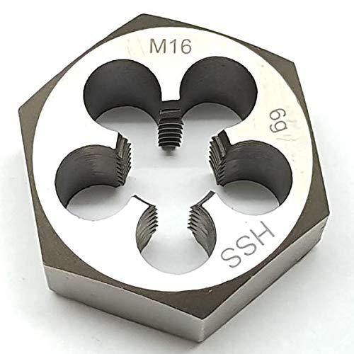 M16 Schneideisen SECHSKANT Schneidmutter Regelgewinde