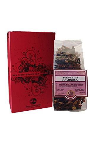 SABOREATE Y CAFE THE FLAVOUR SHOP Infusion Des Fruits Gumdrops et Sucettes Naturel 100 gr