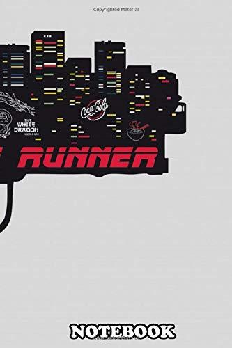 Notebook: Rick Deckard Blade Runner Blaster Gun Art Movie Inspire , Journal for Writing, College Ruled Size 6' x 9', 110 Pages