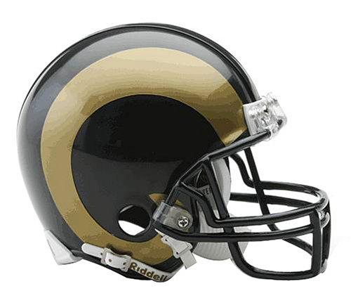 Riddell NFL St. Louis Rams Replica Mini Football Helmet