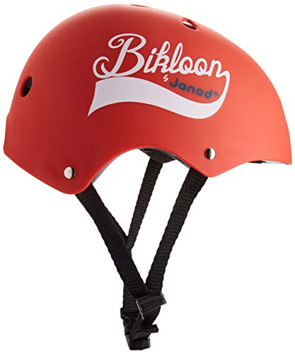 Janod Red Bike Helmet – Ages 3-6 Years