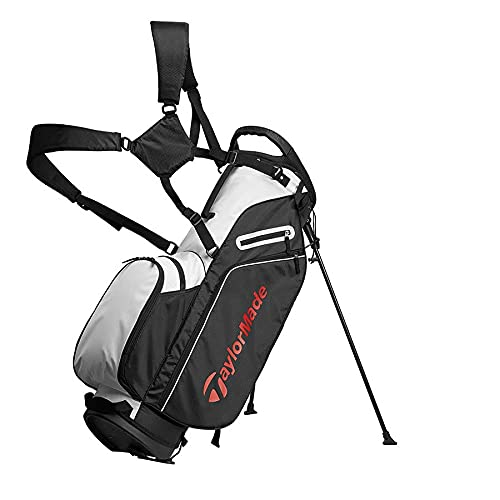 Product Image 1: TaylorMade 5.0 ST Bag, Black/White/Red