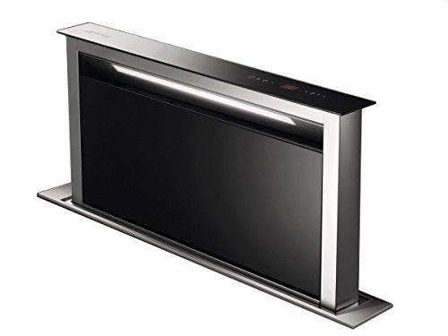 Smeg KDD90VXE De superficie Negro, Acero inoxidable C - Campana (Canalizado/Recirculación, 46 dB, 61 dB, 65 dB, 70 dB, De superficie)