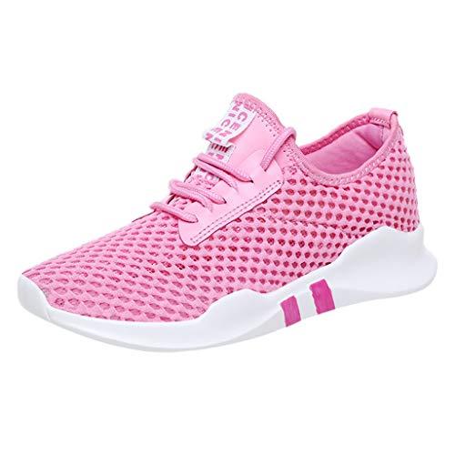 URIBAKY Fashion Casual Damen Laufschuhe Sneakers,Women's Sportschuhe Mesh Leichte Schuhe,Students Turnschuhe,Fitnessschuhe Leicht,Joggingschuhe