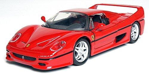 Maisto 39923 - Modellauto 1:24 Bausatz Ferrari F50, rot