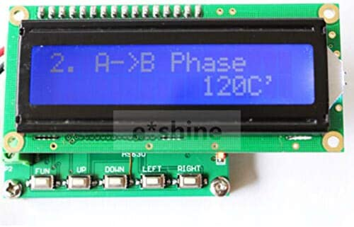Three Phase sine Wave Signal Generator 0 to 360 Frequency Counter 1 00 200KHZ product image