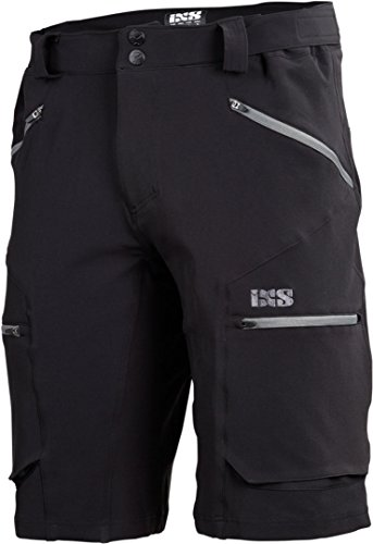 IXS Herren Tema 6.1 Trail Shorts, Black, L