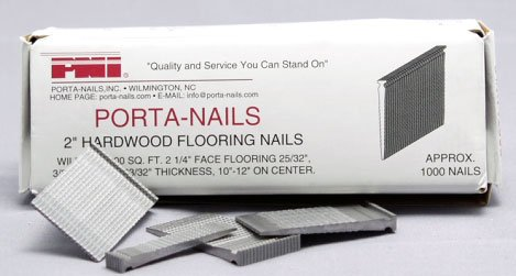 Porta Nails Flooring 10 ', 12 ', 2 ', 2-1/4 ', 25/32 ', 3/8 ', 32 ', 9/16 ' Box Of 1000