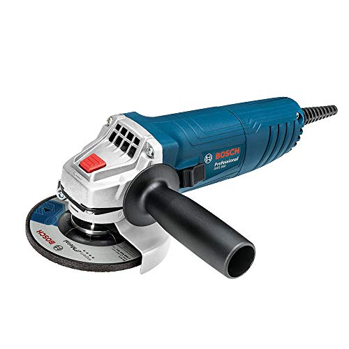 Bosch 06013775G2 Miniamoladora Angular, color Azul Opaco, Medium