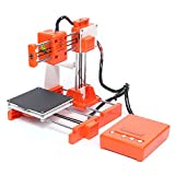 Mini Desktop 3D Printer DIY Kit, 100 x 100 x 100mm Printing Size 1.75mm PLA Filament 3D Printer with Detachable Platform for Beginners Kids
