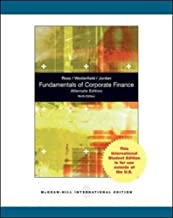 Fundamentals of Corporate Finance by Stephen A Ross (2009-07-30)