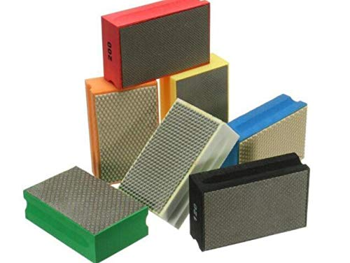SUCAN 95 * 58mm 60-3000 Korn-Diamant-Handauflage für Granit-konkretes Marmor-Glaspolieren (800#)
