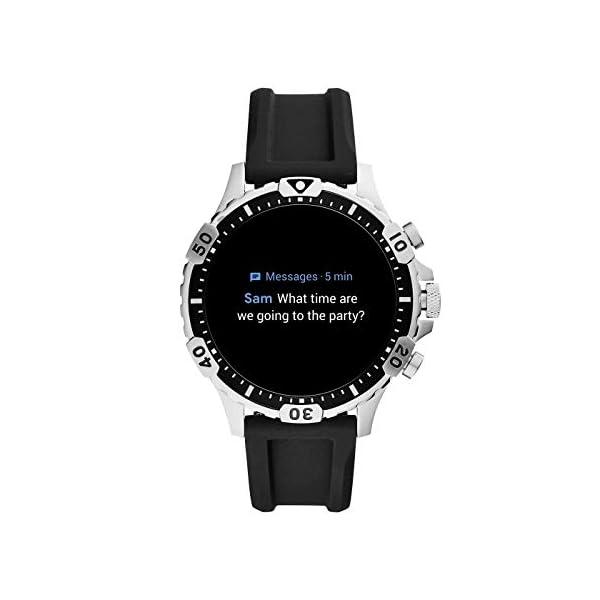 Fossil Connected Smartwatch Gen 5 para Hombre con pantalla táctil , altavoz, frecuencia cardíaca, GPS, NFC y… 9