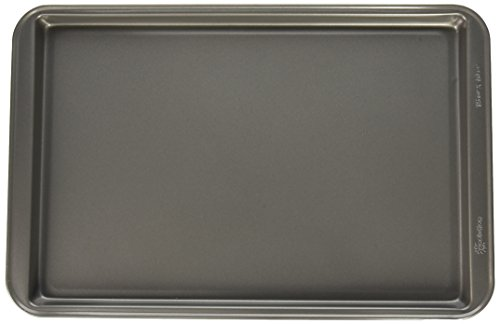 Ecolution Heavy-Duty Carbon Steel Bake Ins Cookie Sheet, 15 1/4' x 10 1/4', Gray