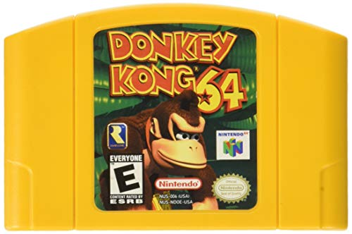 Donkey Kong 64 With Expansion Pak (N64)