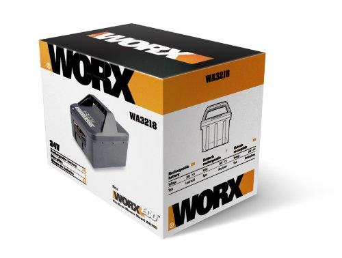WORX WA3218 24-Volt Lead Acid Mower 10Ah Battery for Series WG785, WG787 Mowers