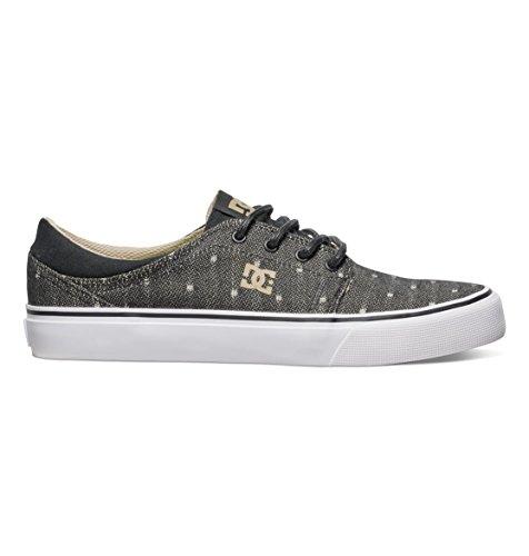 DC Shoes Trase TX Se, Zapatillas Deportivas para Hombre, Negro (Noir Marron), 36.5 EU