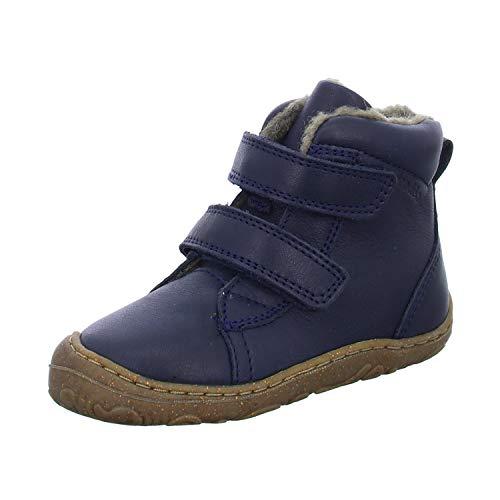 Froddo G2110086-10 Bottes de marche unisexe pour enfant avec doublure chaude - Bleu - bleu foncé, 20 EU