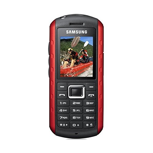 Samsung B2710 Handy (5,1 cm (2,0 Zoll) Display, 2 Megapixel Kamera, wasserdicht) metallic orange