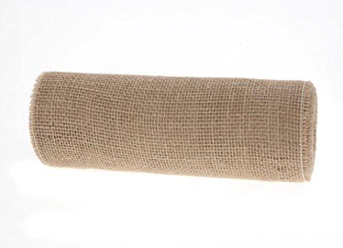 DEKO Jute Juteband, 30 cm, Natur, 10