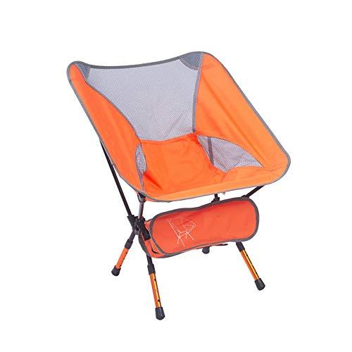 ZA Klapstoel, draagbare kruk, buitenstoel, schetsstoel voor lunchpauze, maanstoel, klapstoel, visstoel, luxe Artefakt, sterk en robuust, stoel plus katoen, met functioneel pakket