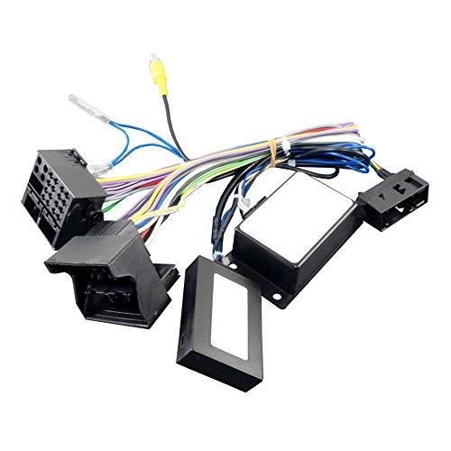 Maxxcount Rückfahrkamera Adapter geeignet für VW Werks-Rückfahrkamera High bei Austausch eines RNS315, RNS510, RCD510, Columbus, Bolero oder Trinax gegen EIN Nachrüstradio