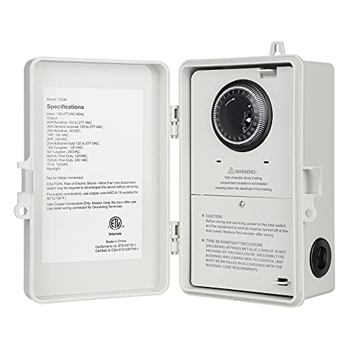 DEWENWILS Outdoor Water Heater Timer Box...