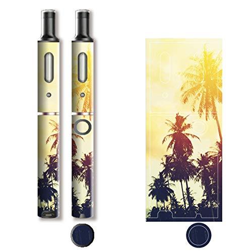 電子たばこ タバコ 煙草 喫煙具 専用スキンシール 対応機種 プルーム テック プラス Ploom TECH+ Ploom Tech Plus California (カリフォルニア) イメージデザイン 01 California (カリフォルニア) 01