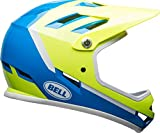Bell Sanction Adult Full Face Bike Helmet (Force Blue/Retina Sear (2018), Small)