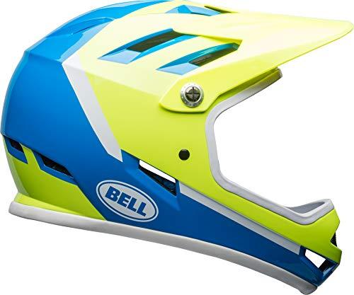 BELL Sanction Adult Mountain Bike Helmet - Force Blue/Retina Sear (2018), Medium (55-57 cm)