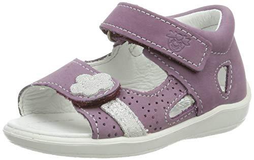 RICOSTA Mädchen Maja Geschlossene Sandalen, Pink (Purple 329), 24 EU