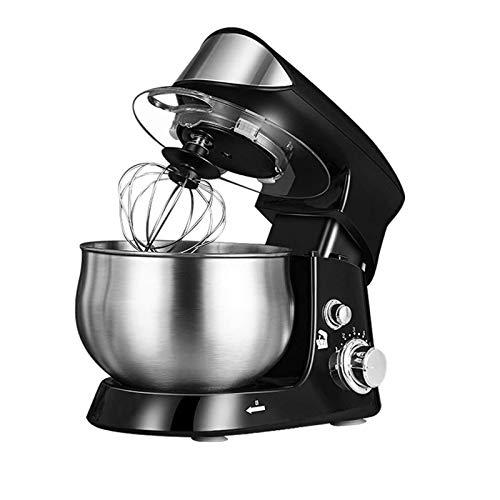 YFGQBCP Batidora de pie 3.5L, 600W eléctrico Cocina batidora, 6-Speed Control de la Pasta con el Gancho amasador Mezclador, batidor, batidor, tazón de Acero Inoxidable