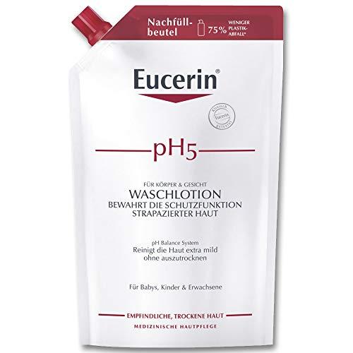 Eucerin pH5 Waschlotion Nachfüll empfindliche Haut, 750 ml