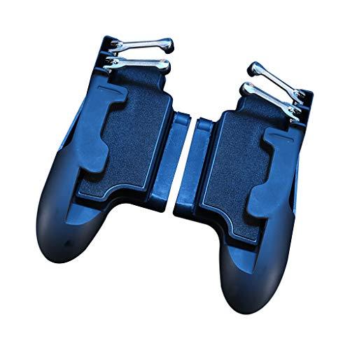 H11 Gaming Controller Tragbarer Sechs-Finger-Betrieb Gamepad Tablet Auslöser Feuerknopf Zielschlüssel Handyspiel Griff Joystick, Für IPad iPhone