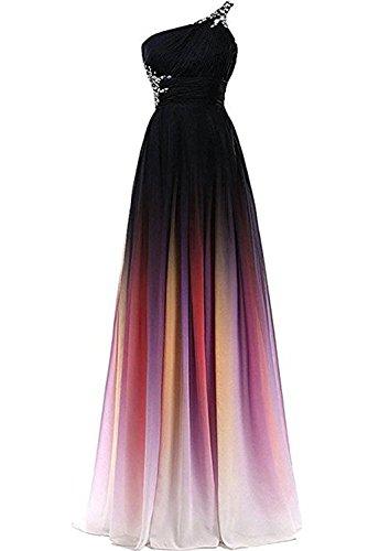 Victory Bridal 2018 Neu Traumhaft Ein-traeger Festkleid Lang Damen Abendkleider Ballkleider Partykleider -56 EFuchsie