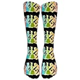 HNJZ-GS Beatles en Color Medias de Tubo atléticas Hombres Clásicos de Las Mujeres Calcetines de tripulación Calcetines Calcetines Largos Deportivos Talla única