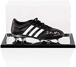 Glenn Hoddle Signed Football Boot - Adidas - In Acrylic Display Case -  Autographed Soccer Cleats 94d000f2a28
