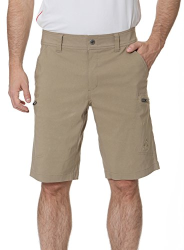 Gerry Stretch River Hiking Short, UPF 30+ Protection Size 30 Oak