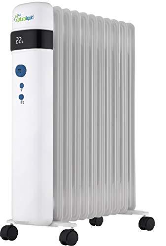 Bastilipo 2499 H2O Natural Liquid-R-EcoFluid-11-Radiador de Fluido 100{81bc7555ed41e9adc6b18a2fad0d449258fd9911486fd69d41decf833da73adc} ecológico con WiFi y 2000W de Potencia