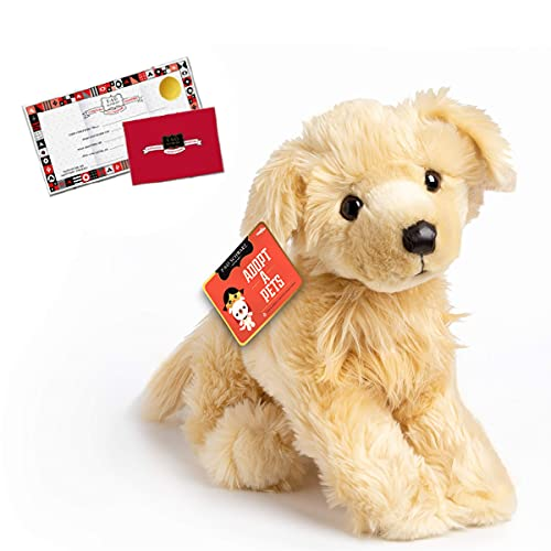 """FAO SCHWARZ 20"""" Golden Retriever Puppy Dog Toy Plush, Ultra Soft and Snuggly Stuffed Animal Doll for Creative and Imagination Play, for Boys, Girls, Children Ages 3 and Up, Playroom and Nursery"""