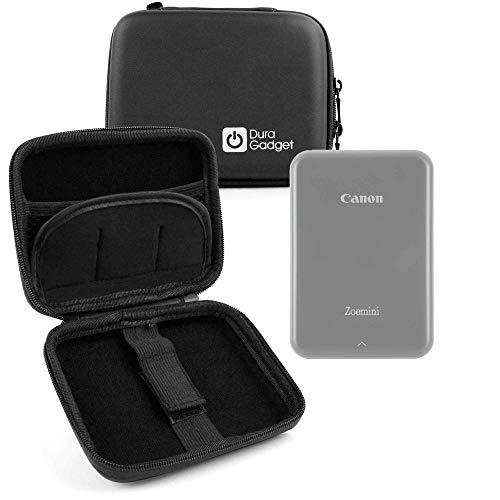 Duragadget - Cover rigida per Canon Zoemini/Zoemini S e C, stampante fotografica istantanea, portatile, con clip di fissaggio staccabile