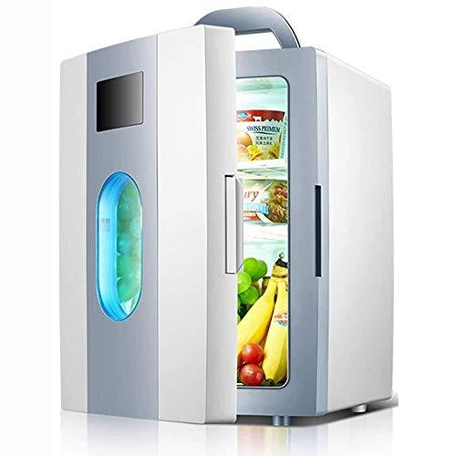 LYJ Coche Nevera/Mini Refrigerador portátil 10L / refrigerador al aire libre/refrigerador del coche 12V / 220V Nevera Inicio/Nevera sitio del dormitorio/refrigerador silencioso