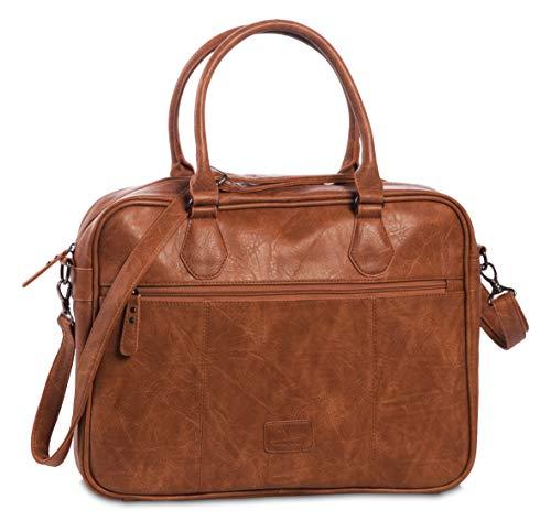 """Bestway Laptoptasche, \""""Venture\"""", Cognac, 41x30x8cm, 40235-1100"""