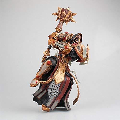 Bosi General Merchandise World of Warcraft, Richtritter, Orangenhammer, Paladin, Valanay, bewegliches Modell, PVC, Sammlermodell, Spielzeuggeschenk