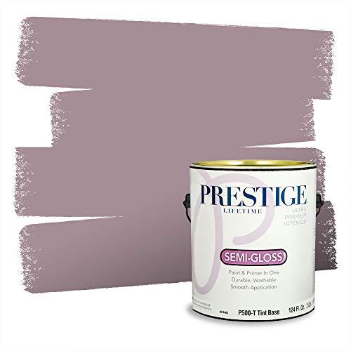 Prestige Paints P500-T-1004-7CVP Paint and Primer In One, Mellow Mauve, 1 gallon